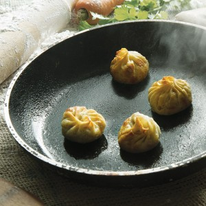 Fried Round Momos